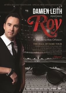 Roy – a tribute to Roy Orbison – The Hall of Fame tour
