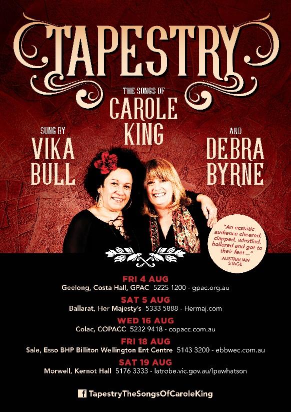 Tapestry - Vika Bull & Debra Byrne