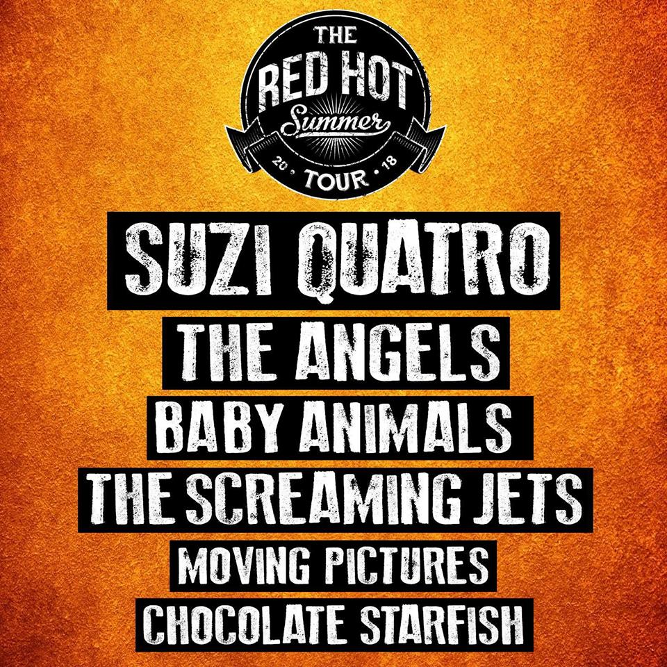 The Red Hot Summer Tour's ultimate rock line-up sells out ...