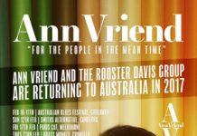 Ann Vriend - 2017 Tour