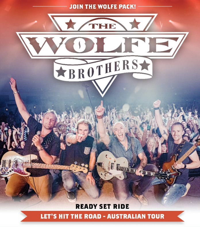 The Wolfe Brothers - Let's Hit The Road