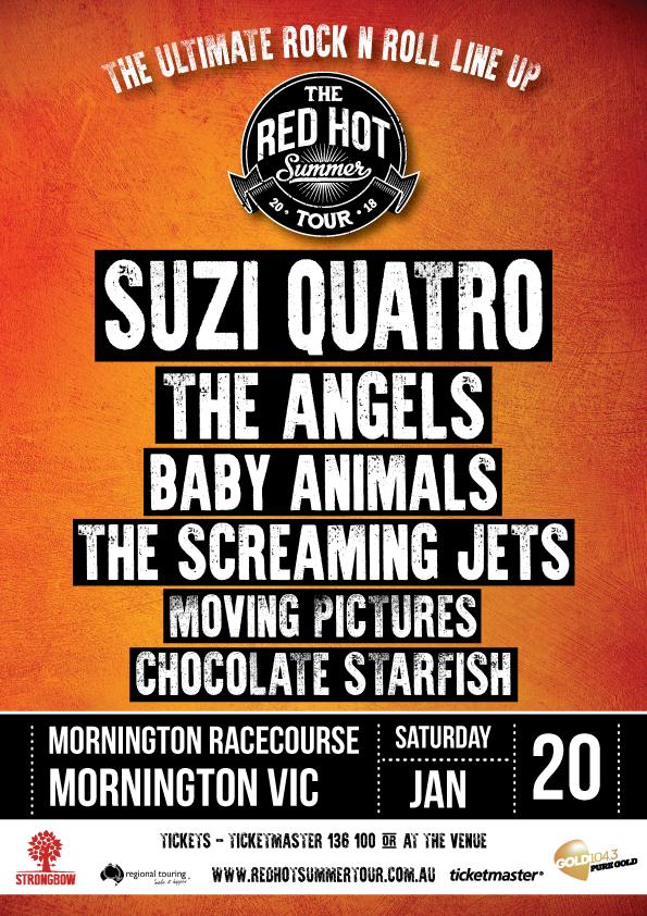 Red Hot Summer Tour - Mornington-soldout