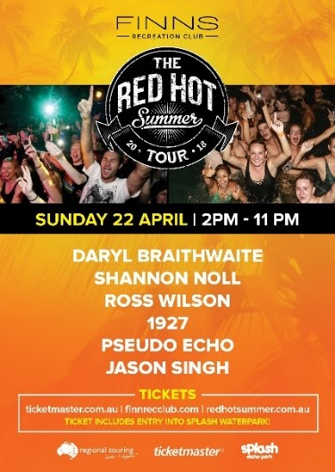 The Red Hot Summer Tour - Bali