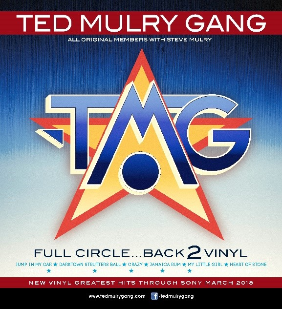 Ted Mulry Gang - Full Circle... Back 2 Vinyl