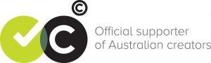Official supporter of Australian creators