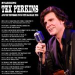 Tex Perkins - The Man In Black 2018