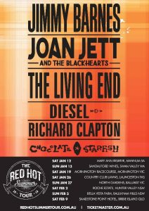 Red Hot Summer Tour - Mornington Racecourse @ Mornington Racecourse, MORNINGTON VIC