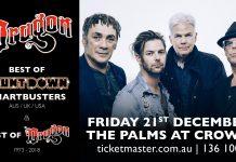 Dragon - Melbourne December show