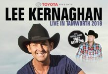 Lee Kernaghan Tamworth 2019