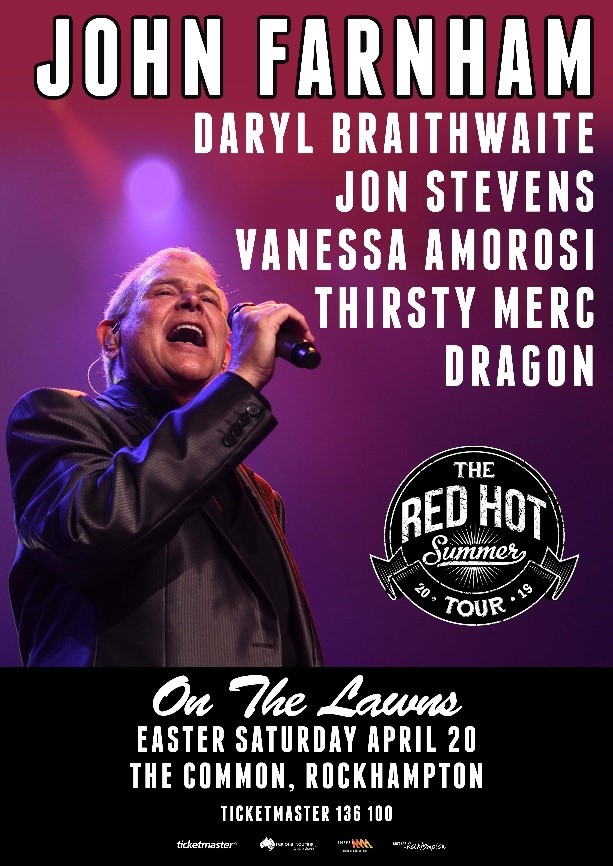 Red Hot Summer Tour - 2019 - Rockhampton