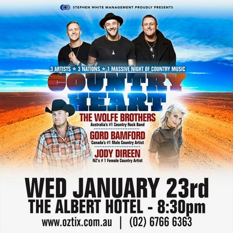 The Wolfe Brothers - Country Heart Tour