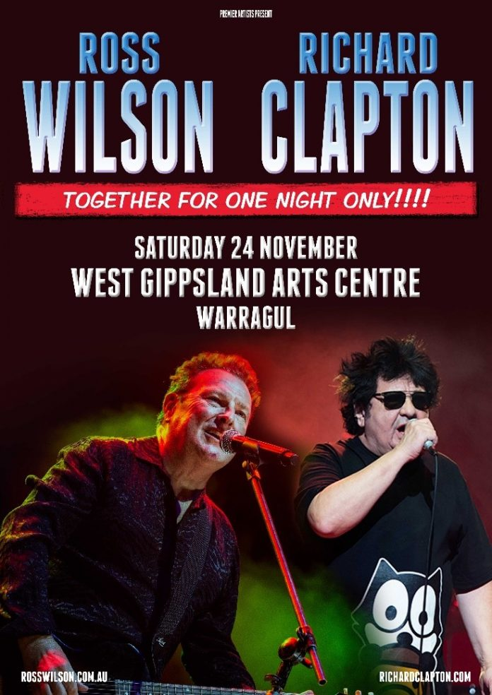 Ross Wilson and Richard Clapton