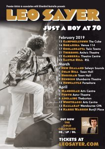 Leo Sayer @ Anita's Theatre, THIRROUL NSW