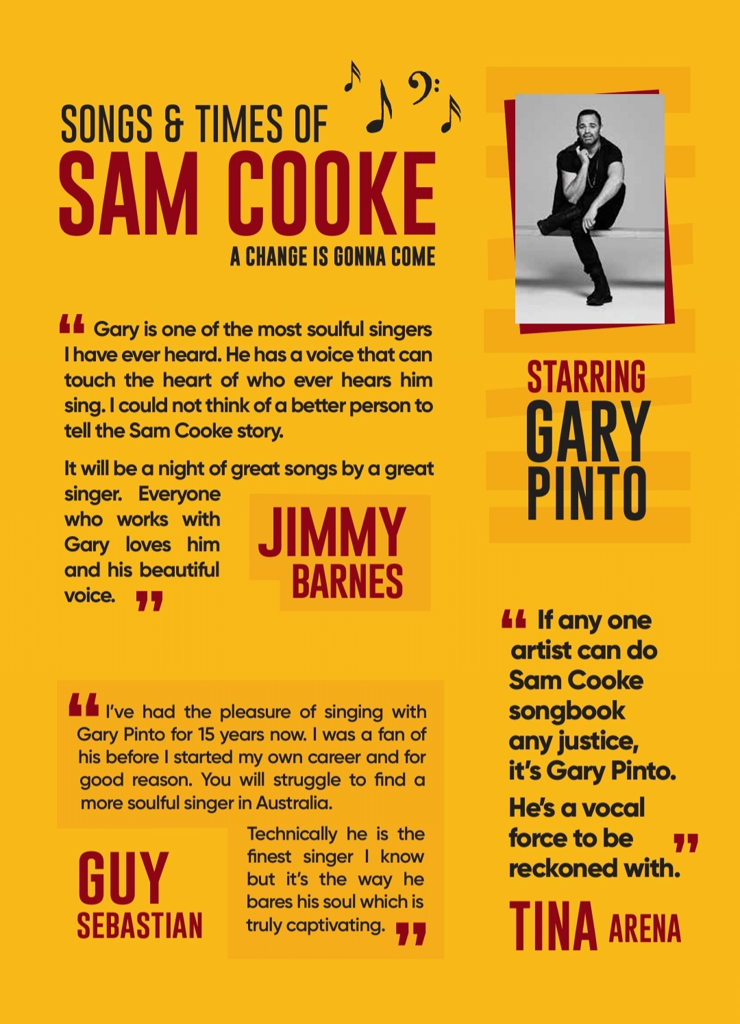 Songs & Times Of Sam Cooke – A Change Is Gonna Come | Hot Off The