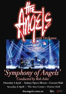 The Angels [Symphony Of Angels] @ Sydney Opera House [Concert Hall], SYDNEY NSW