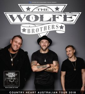 The Wolfe Brothers @ Macs Hotel, MELTON VIC