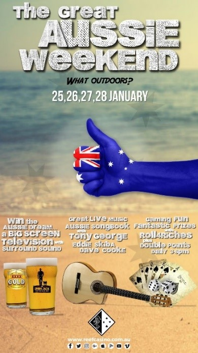 Reef Hotel Casino - Great Aussie Weekend 1-2019