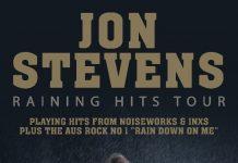 Jon Stevens - Raining Hits Tour