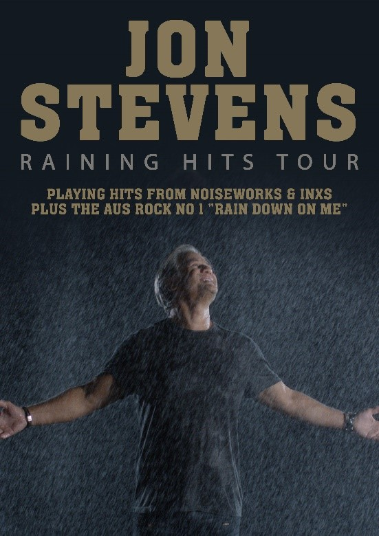Jon Stevens - Raining Hits Tour