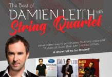 Damien Leith w String Quartet