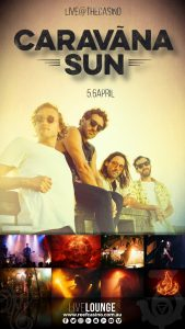 The Reef Hotel Casino presents Caravãna Sun returning for two nights at BAR36 @ BAR36