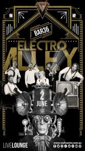 The Reef Hotel Casino presents Swing Social Sunday with Electro Alley @ BAR36