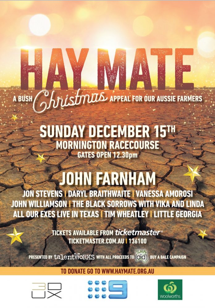 Hay Mate – A Bush Christmas Appeal For Our Aussie Farmers