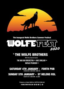 WOLFEFEST @ Forth Pub [Outdoors], FORTH TAS