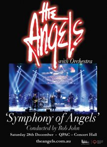 The Angels @ QPAC, Concert Hall, BRISBANE QLD