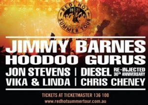 The Red Hot Summer Tour @ Bendigo Jockey Club