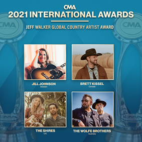 The Wolfe Brothers - CMA 2021 International Awards